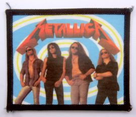 Metallica - 'Group Swirl' Vintage Printed Patch